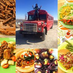 Check out my entry for Flo's Fabulous Food Truck Contest! I could win up to $10,000! #flosfoodtruck Fabulous Foods, Food Truck, Paella, Veggies, Vegetarian, Vegan, Make It Yourself, Ethnic Recipes, Check
