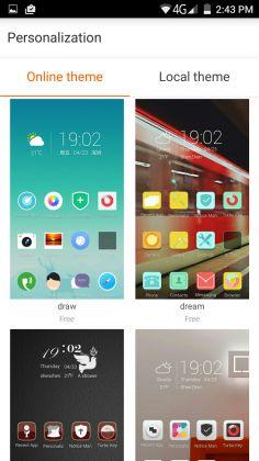 L'Elephone P8000 gira su Android 5.1 moddato con una skin della Elephone. Otterrete molto dell'esperienza Android con un po' di personalizzazione fatta dalla Elephone. È interessante notare che hanno rimosso la tab delle applicazione e tutte le applicazioni risiedono sugli schermi della home. Non è un gran problema, poiché si può facilmente installare un launcher di terze parti per sistemare il tutto.