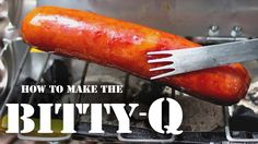 How To Make The Bitty-Q - (A Drink-Can BBQ)