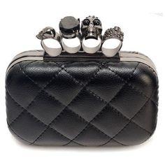 b4b512a17 Clutch Caveira - Miss Dreamy Store Skull Purse, Women's Clutches & Evening  Bags, Leather