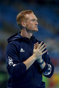 #RIO2016 Greg Rutherford of Great Britain ahead of the Men's Long Jump Qualifying Round on Day 7 of the Rio 2016 Olympic Games at the Olympic Stadium on...