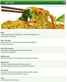 Schon mal von Pho, Bun cha gio, Bun thit nuong, Banh cuon Roll, Banh xao oder Goi Cuon gehört? Nein? Dann haben Sie was verpasst, denn diese vietnamesischen Spezialitäten liegen voll im Trend und wenn Sie gerne asiatisch essen bestellen in Bielefeld, dann bietet Ihnen der Shaolin Lieferservice Bielefeld beste vietnamesische Spezialitäten auf seiner Online Speisekarte.