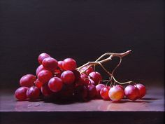 Ning Lee Grapes Oil on Linen                                                                                                                                                                                 Más