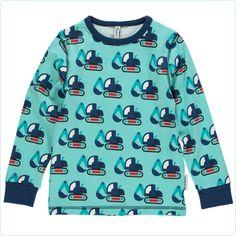 Maxomorra Shirt Bagger blau - LolaKids