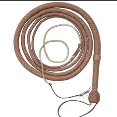 """Indiana Jones"" bull whip, by the great David Morgan!  I want one!"