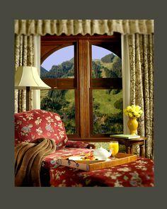 Beautiful Mountain Views  #Aspen #Colorado #Luxury #Hotel  http://hoteljerome.aubergeresorts.com/