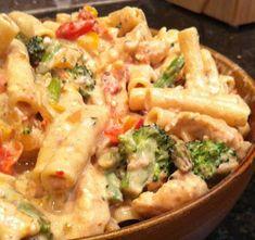 Confetti Chicken Pasta Recipe | FOOD AND COOK