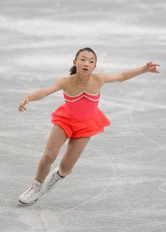 Kaori Sakamoto Photos Photos - Kaori Sakamoto of Japan performs in the Ladie's short program during All Japan Figure Skating Championships at Saitama Super Arena on December 22, 2013 in Saitama, Japan. - 82nd All Japan Figure Skating Championships: Day 2