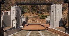 DESIGNBOOM: LA's ford theatres complex completes first major renovation http://www.davincilifestyle.com/designboom-las-ford-theatres-complex-completes-first-major-renovation/     located within a 32-acre park in the hollywood hills, the john anson ford theatres complex is one of the oldest functioning performing arts venues in los angeles. after the original amphitheater was destroyed by a brush fire in 1929, the rebuilt theater — designed to resemble the gates of jerusal