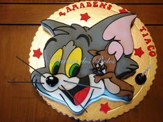 Bolo Tom and Jerry Tom and Jerry cake