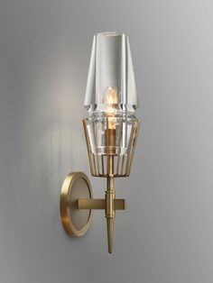 Jonathan Browning Chaillot Sconce sold at the Bright Group