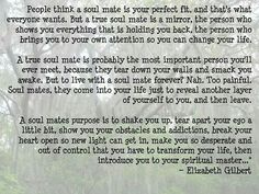 Best Elizabeth Gilbert Soul Mate Quote Soaknowledge