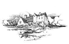 Bertram Grosvenor Goodhue, Architect. Book Illustration