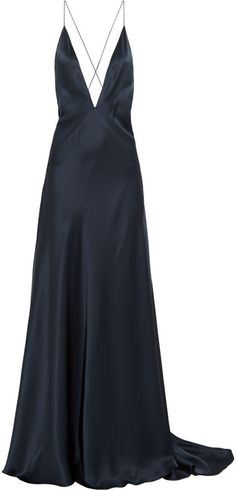 Michael Lo Sordo Alexandra  silk-satin maxi dress $2,054 down to $857
