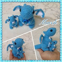 Tiny March Dragon by Amaze-ingHats on DeviantArt