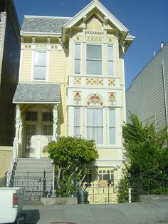 victorian house by jezon, via flickr. san francisco, ca.