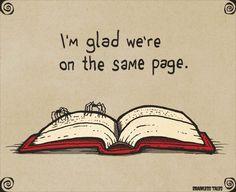 2015.10.20 [오늘의 영어표현 - To be on the same page] : 네이버 블로그