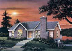 Traditional House Plan 87362