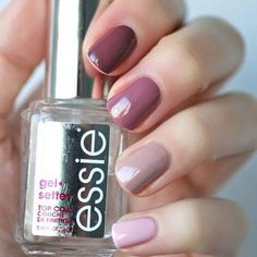 #purple #taupe #nails