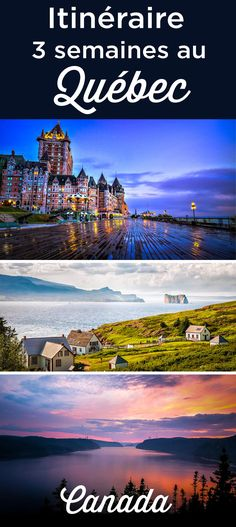 Chateau Frontenac, Les Fjords, Parc National, Road Trip, Camping, Mountains, Circuits, Dream Life, Insulation
