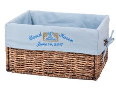 #basket#wicker basket#liner#liners#Basket liner#basket#storage basket#organize#organizer#blue#home#decor#customized#customized#customization#personalize#personalization#name#embroidery#gift #pink#baby#girl#baby girl#children#home#dragonfly#fly Basket Storage, Basket Organization, Wicker Baskets, Gift Baskets, Wedding Baskets, Name Embroidery, Basket Liners, Blue Home Decor, Kids House