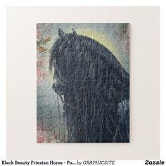 Black Beauty Friesian Horse - Puzzle