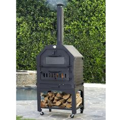 Enformo Wood-Fired Pizza Oven and Smoker
