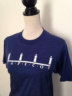 Vintage Cape Cod Tshirt by 21Vintage on Etsy