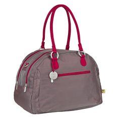 Glanzvoll, schön und sportlich ist die LÄSSIG Bowler Bag in metallic flaming aus der Gold Label Kollektion