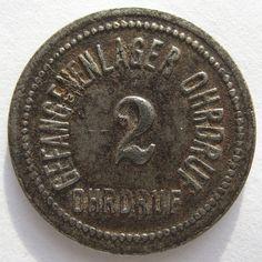 Kriegsgefangenen geld 2 pfennig gefangenenlager Ohrdruf
