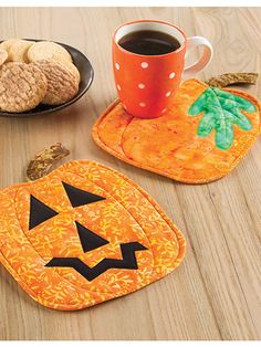 """This pumpkin has the option to be made as is or add the face to create a jack-o-lantern! Finished size is 8 1/4"""" x 11"""" including stem. Skill Level: Confident Beginner"""