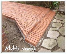 This particular photo is a really inspiring and top-notch idea Brick Driveway, Brick Pathway, Brick Wall Decor, Brick Works, Brick Laying, Brick Art, Brick Architecture, Brick Design, Brick Patios