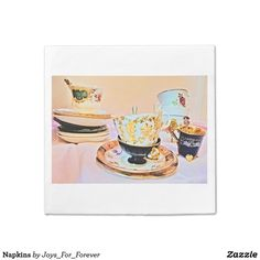 Avoid any messy dinners with Teacup napkins from Zazzle. Browse through our marketplace of paper and cloth napkins ranging in different styles and sizes. Forever Products, Cloth Napkins, Different Styles, I Shop, Tea Cups, Iphone Cases, Joy, Glee, Iphone Case