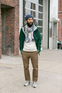 Unexpected Detail: the Floral Scarf.