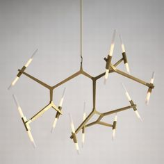 Agnes Chandelier by Lindsey Adelman for Roll& Hill