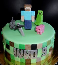 torta, cake Minecraft