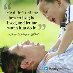 Teach your children to respect their dad. | -mommying | Pinterest ...