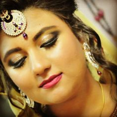 Beautiful aisha on her engagement.It was such a pleasure to get you ready.Thank you for your complete trust and faith in me.  #Makeupandhairstylebyme #engagementbride #mywork #glitteryeye #flawlessmakeup #mywork #lovemywork #Glowingmakeup #hudabeauty #zukreat #maccosmetics #anastasiabeverlyhills #dollhousedubai #africa #sanaamua  Huda Beauty Mona Monica Kattan @nazanasghar Saleha Abbasi - Makeup Artist Jaclyn Hill NikkieTutorials Tamanna Makeup Meenakshi Dutt Makeovers Lubna Nazir #mua…