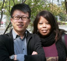 Michael (China) and Jo (USA), a couple living in China. NOTE: Jo was one of our early Random Nomad interviewees!