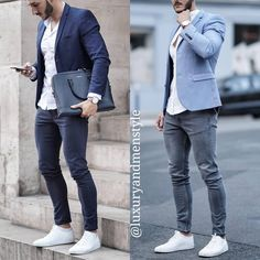 Mens Casual Suits, Stylish Mens Outfits, Mens Fashion Suits, Casual Outfits, Blazer Outfits Men, Look Man, Herren Outfit, Mens Clothing Styles, Look Fashion