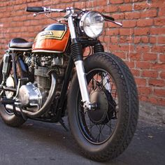 Honda CB450 - I'm liking these more and more everyday.