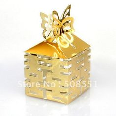 Cheap Festive & Party Supplies, Buy Directly from China Suppliers:12 x Gold Paper Candy Gift Boxes Wedding Party Favors Chinese Double HappinessDescriptionYou can put your favorite