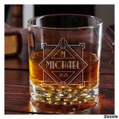 Elegant Speakeasy 12 oz. Whiskey Glass Good Whiskey Drinks, Whiskey Gifts, Whiskey Glasses, Strawberry Banana Milkshake, Vanilla Milkshake, Home Wet Bar, Scottish Gifts, How To Make Drinks, Tennessee Whiskey