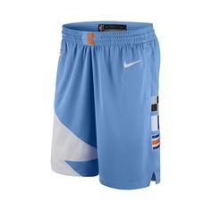 b1199332a6a9 LA Clippers Nike City Edition Swingman Men s NBA Shorts - Blue La Clippers