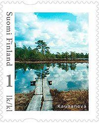 Kauhanevan omakuvapostimerkki 2013