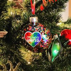 One of my fave ornaments this year #weareorlando #orlandostrong #orlandounited #