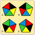 Here's a page with a series of visual puzzles for students to solve.