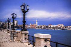 Lungomare di Bari - Il mare d'inverno - Ph. Benny Maffei