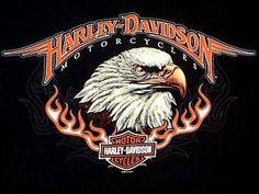 E Motor, Harley Davidson, Eagle, Motorcycle, Las Vegas, Poster, Shirt, Ebay, Black