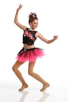 Cute and sassy, jazz dance costume
